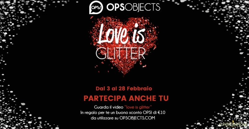 Gratis un buono sconto OPS! Objects da 10€