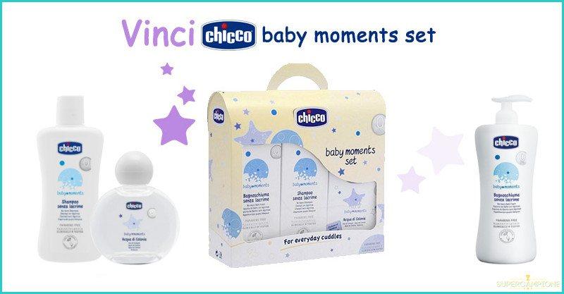 Supercampione - Vinci gratis un set Chicco Baby Moments