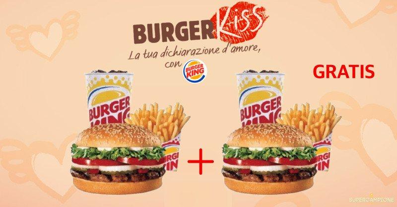 Ricevi un buono sconto Burger King