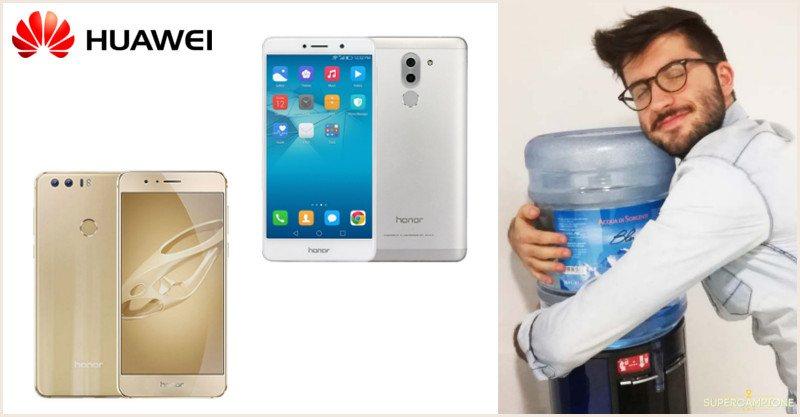 Vinci gratis Huawei Honor 8 o 6X