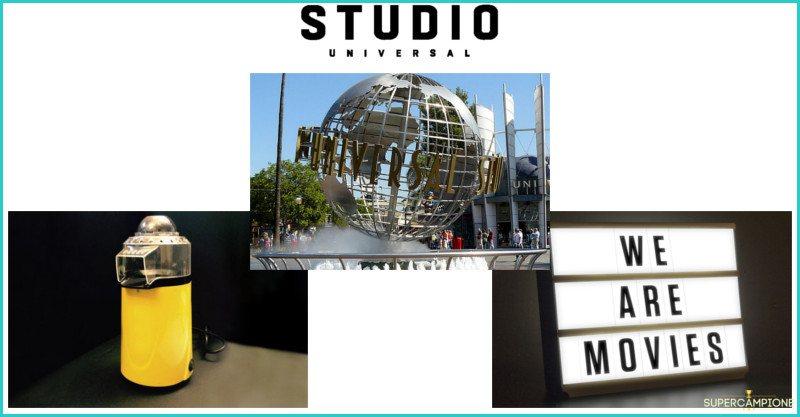 Supercampione - Vinci gratis viaggio a Los Angeles, macchine pop corn e light box Studio Universal