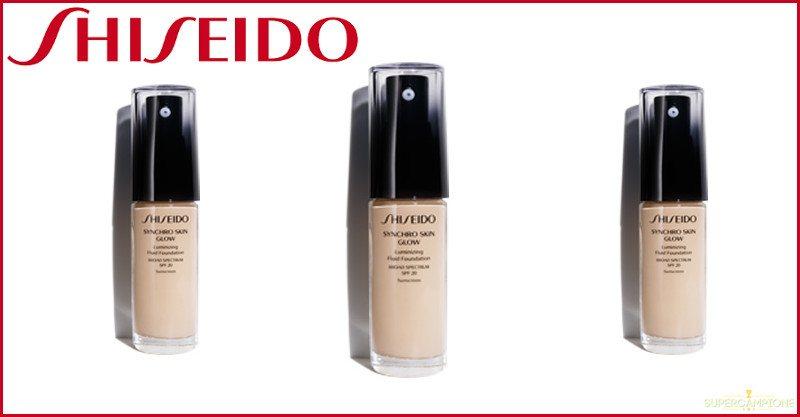 Campioni omaggio fondotinta Shiseido