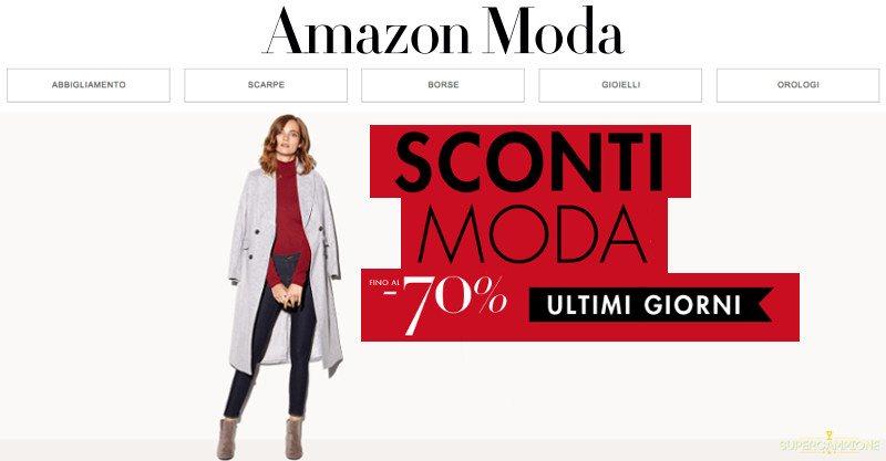 Amazon Moda: sconti fino all'80%