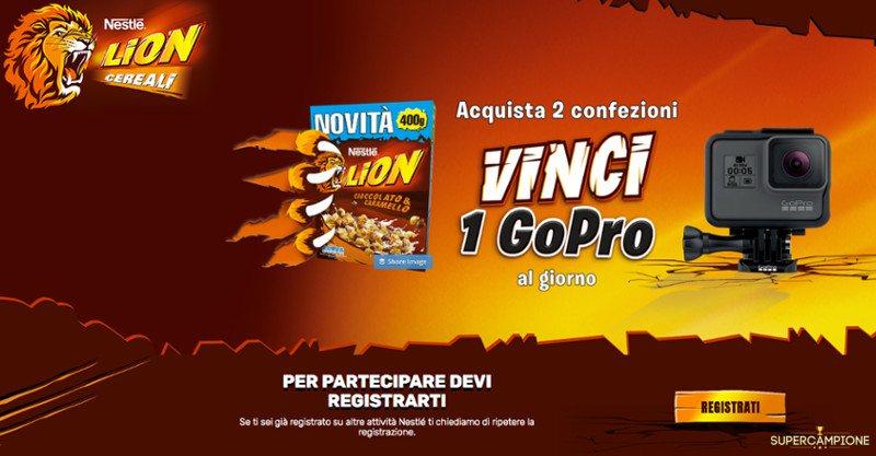 Concorso Nestlé: vinci una GoPro Hero5