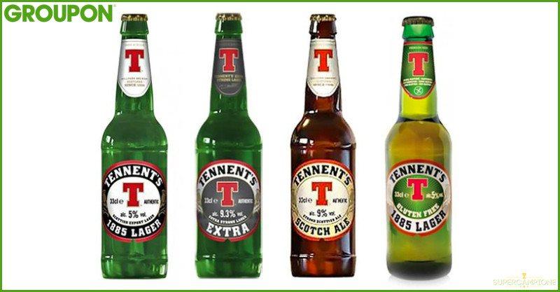 24 birre Tennent's in offerta