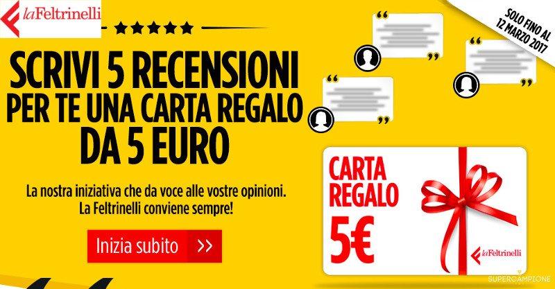 Carta regalo da 5€ La Feltrinelli