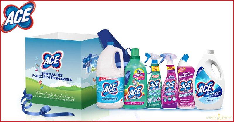 ACE: ricevi in regalo il kit Pulizie di Primavera
