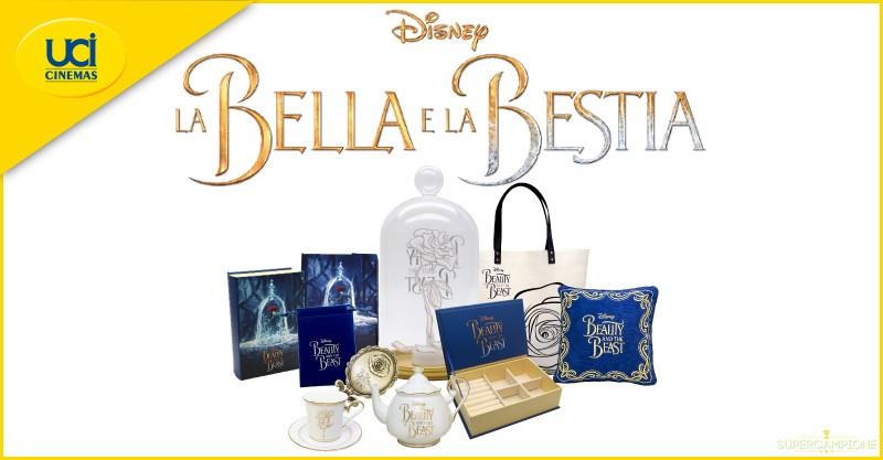 Supercampione - Vinci gratis 108 premi La Bella e la Bestia