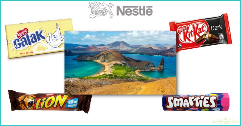 Vinci viaggio in Ecuador con KitKat, Lion, Smarties e Galak