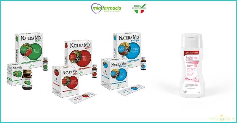 Campioni omaggio Natura Mix e Gyno-Canesten