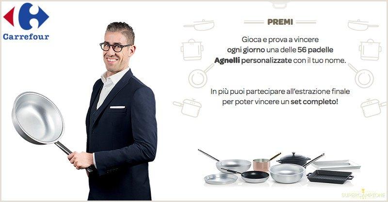 Supercampione - Vinci gratis padelle e casseruole Agnelli