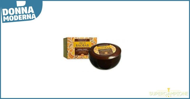 Supercampione - Donna Moderna ti regala la crema corpo Oro di Baobab