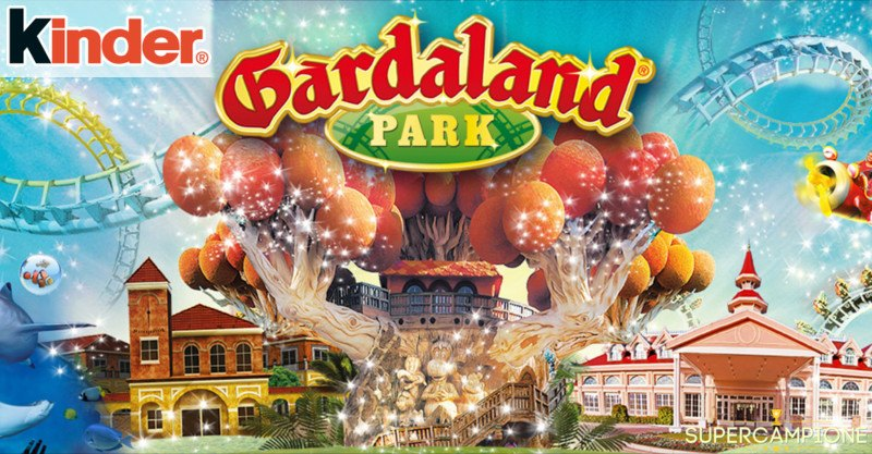 Supercampione - Vinci un weekend a Gardaland con Kinder