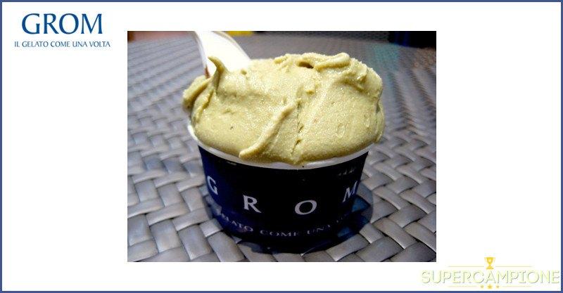 Omaggio gelato al pistacchio da GROM