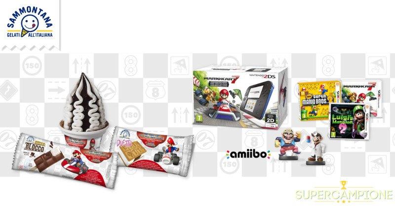 Sammontana: vinci 1000 premi Nintendo e Mario Kart