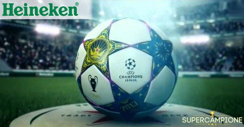 Omaggio pallone Heineken Uefa Champions League