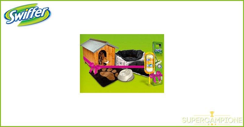 Vinci gratis kit cane o gatto o kit Swiffer con Desideri Magazine
