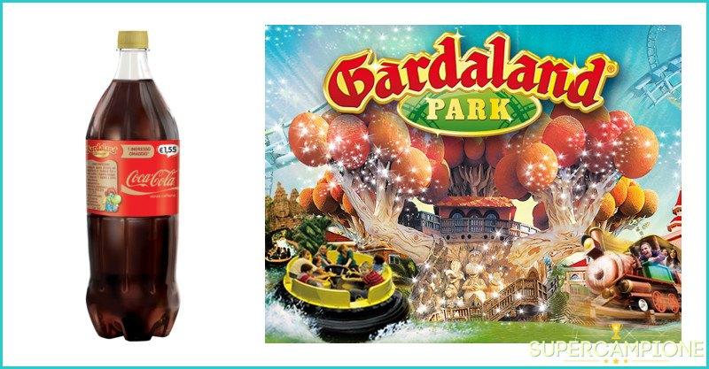 Supercampione - Coca Cola ti regala un ingresso a Gardaland