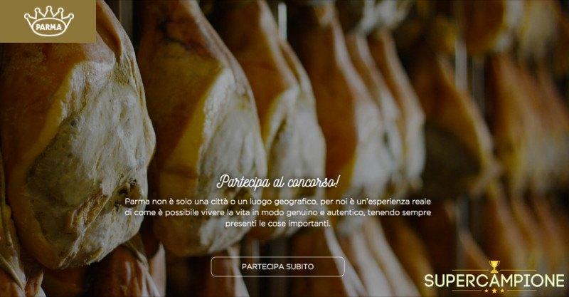 Supercampione - Vinci gratis un weekend a Parma da 8.500€