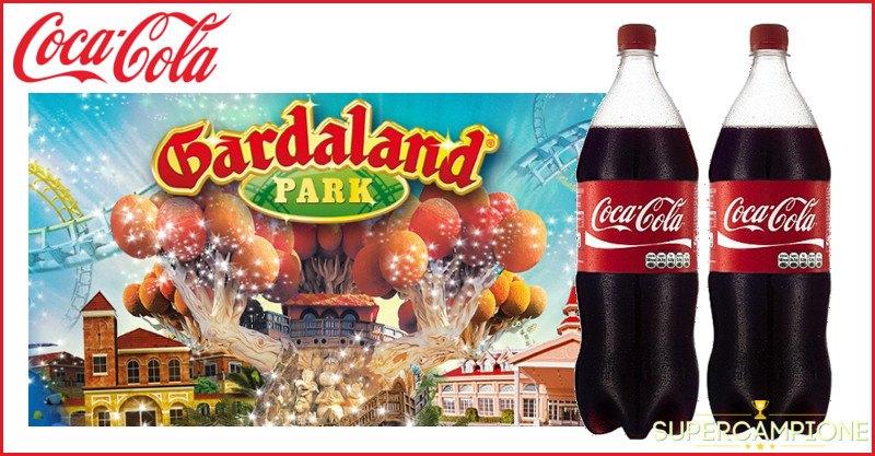 Supercampione - Coca Cola: vinci ingressi gratis a Gardaland