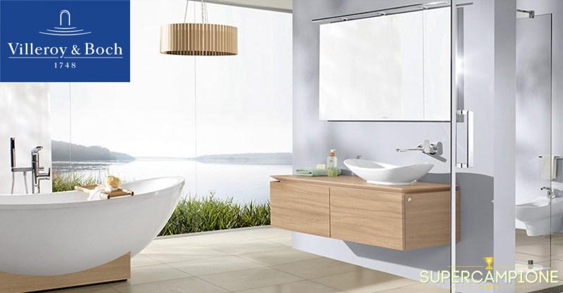 Supercampione - Vinci gratis un bagno di design Villeroy & Boch