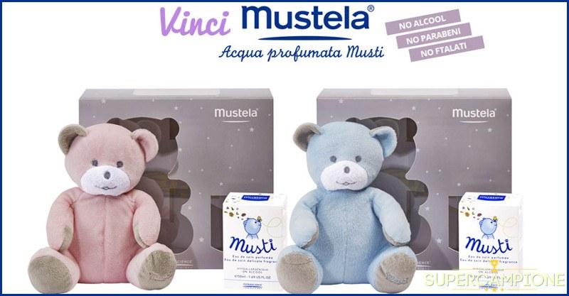 Vinci gratis acqua profumata orsetto Mustela