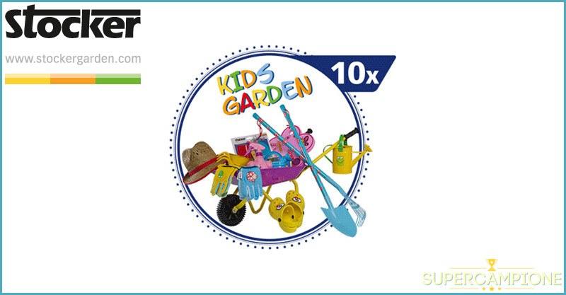 Vinci gratis set di attrezzi da giardinaggio Stocker