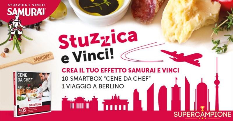 Supercampione - Vinci gratis viaggio a Berlino e Smartbox Cene da Chef