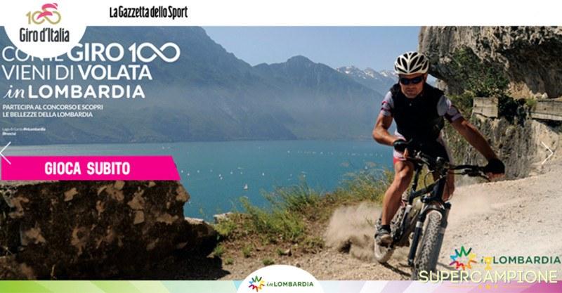 Supercampione - Vinci gratis soggiorno in Lombardia