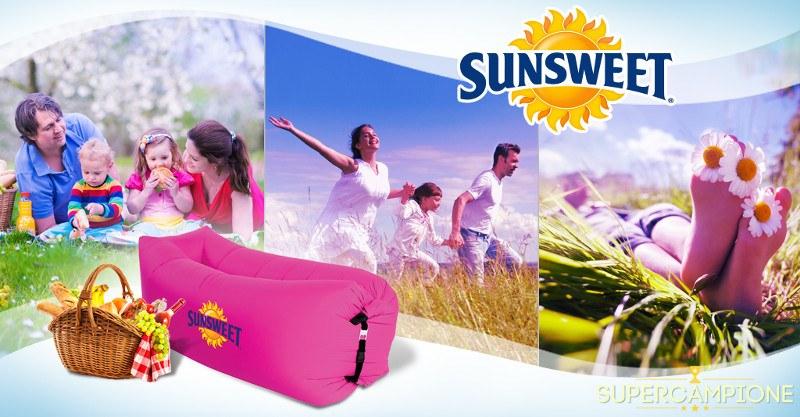 Supercampione - Vinci gratis poltrona gonfiabile, grembiule e fornitura Sunsweet