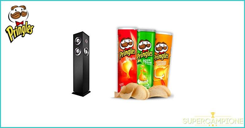 Supercampione - Concorso Pringles: vinci Sound Tower Karaoke