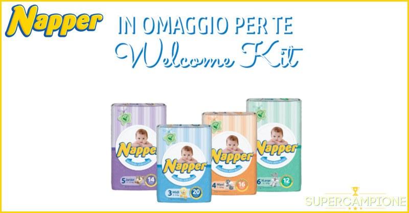 Supercampione - Campioni omaggio pannolini Napper