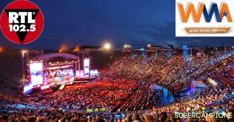 Supercampione - Vinci gratis 2 biglietti per i Wind Music Awards
