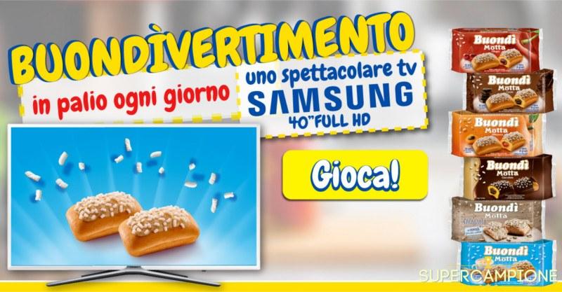 Supercampione - Vinci una TV Samsung al giorno con Buondì