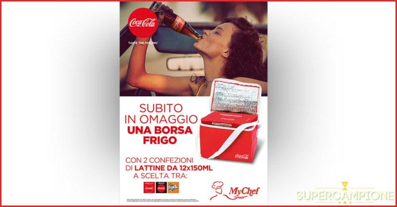 Coca Cola: ricevi in omaggio una borsa frigo