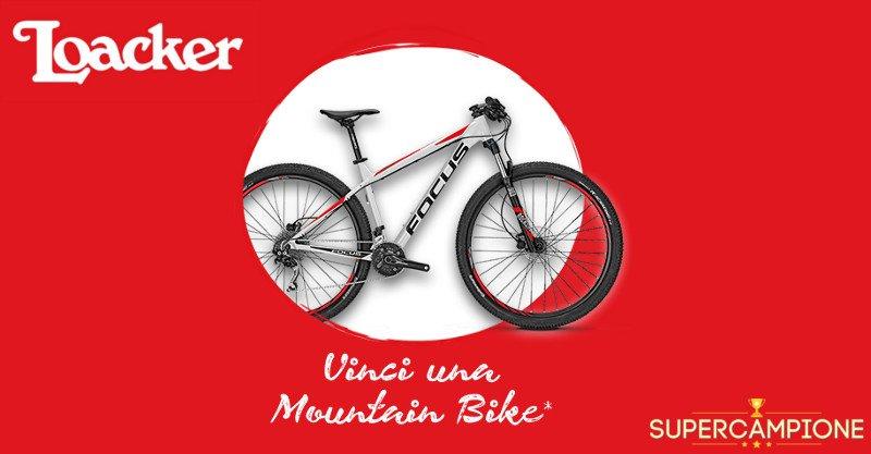 Vinci gratis una bicicletta con Loacker