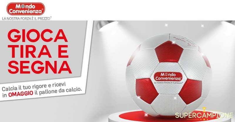 Omaggio Mondo Convenienza: pallone gratis