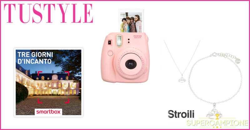 Vinci gratis Smartbox, fotocamera Fujifilm e parure Stroili