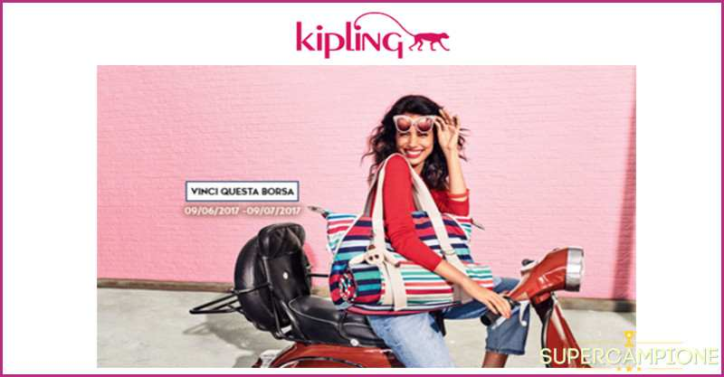 Vinci gratis una borsa Kipling