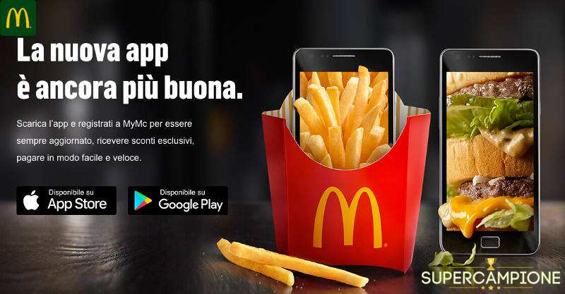 Supercampione - McDonald's: Chicken Wings a 1€ solo oggi