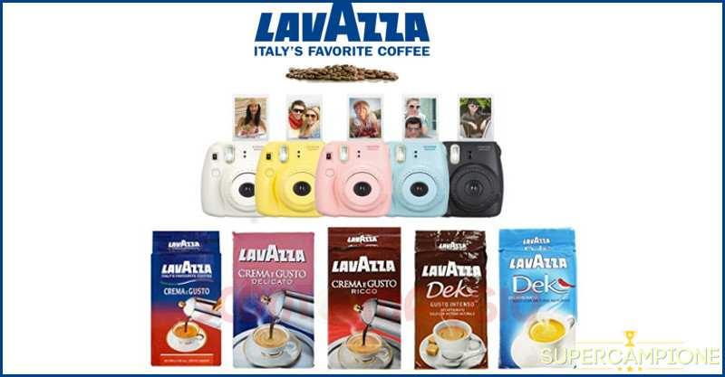 Vinci 50 fotocamere con Lavazza!