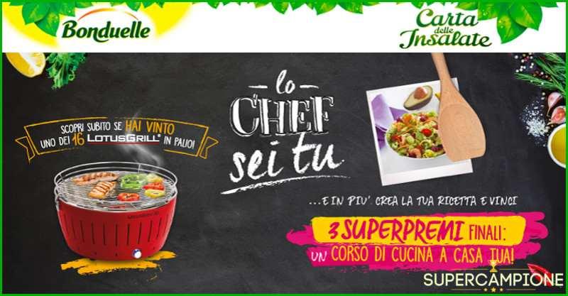 Vinci con Bonduelle Lotus Grill e corsi di cucina!