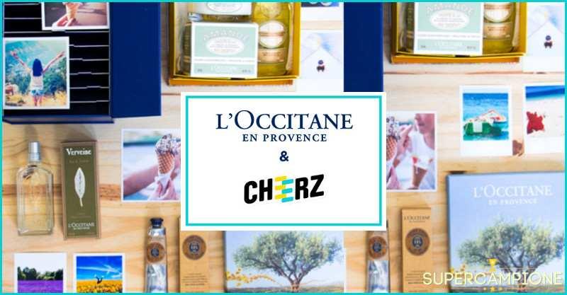 Vinci gratis memory box e cosmetici l'Occitane en Provence