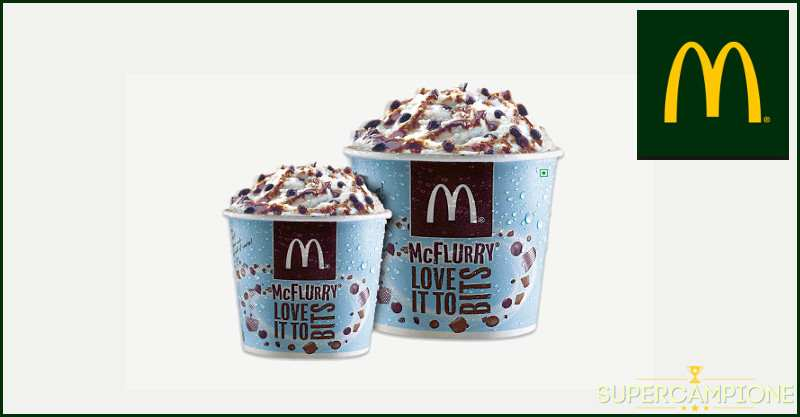 Supercampione - McDonald's: McFlurry a 1€ solo oggi