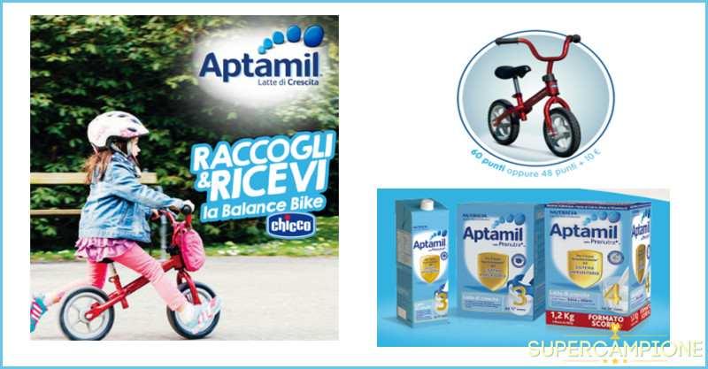 Supercampione - Aptamil ti regala una Bici