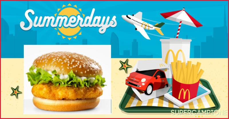Supercampione - McDonald's: McChicken a 2€