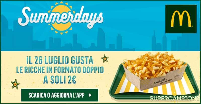 Supercampione - McDonald's: patatine