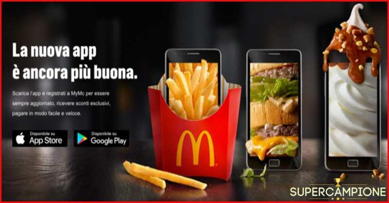 Supercampione - McDonald's: Bibita a 1€