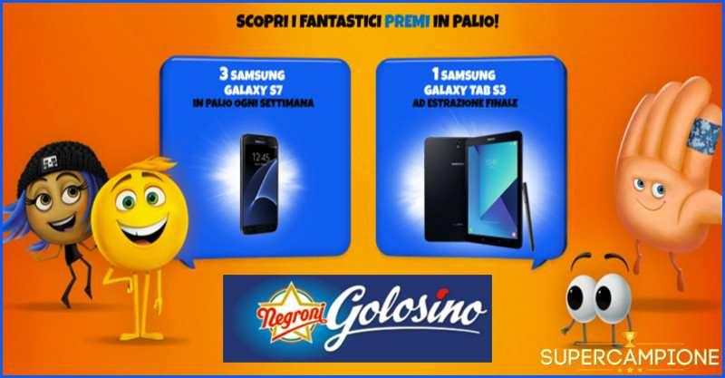 Supercampione - Vinci un Samsung Galaxy S7 e un tablet Samsung Galaxy Tab S3