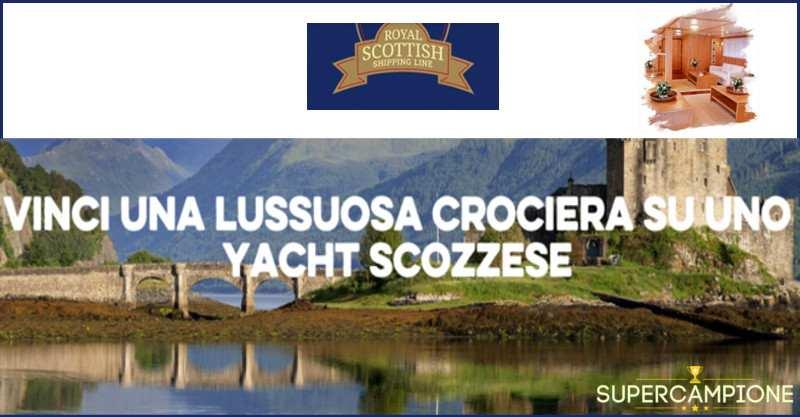 Supercampione - Vinci gratis una crociera di lusso in Scozia